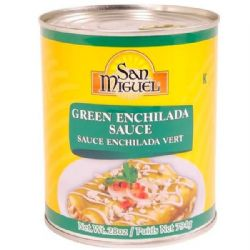 Green Enchilada Sauce 794g | San Miguel | Buy Online | Authentic Mexican | UK | Europe